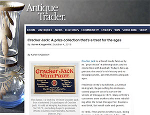 CJCA Teresa Richter and Alex Jaramillio interview with Antique Trader
